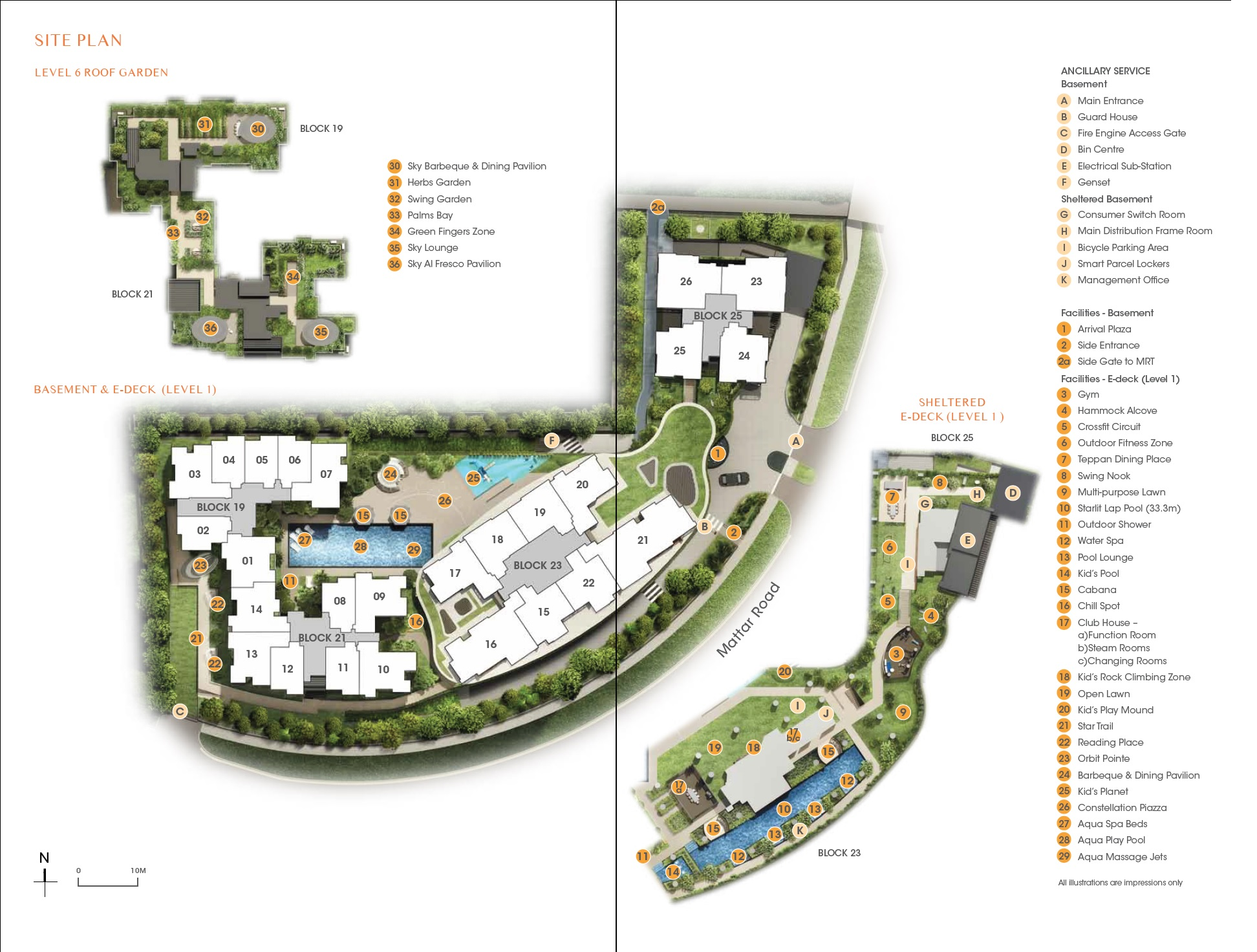 The Antares (星宇轩 ) site plan
