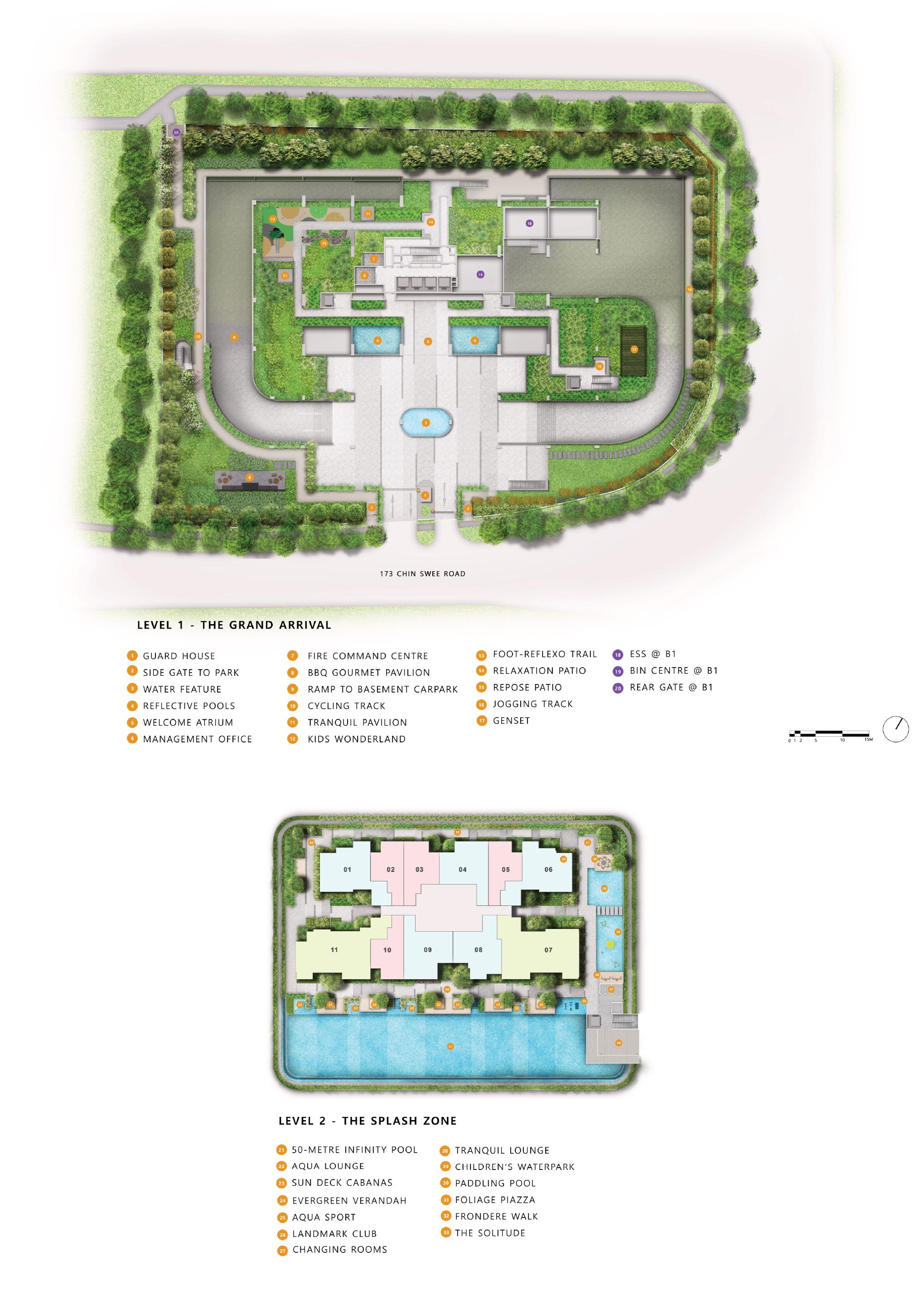 The Landmark site plan