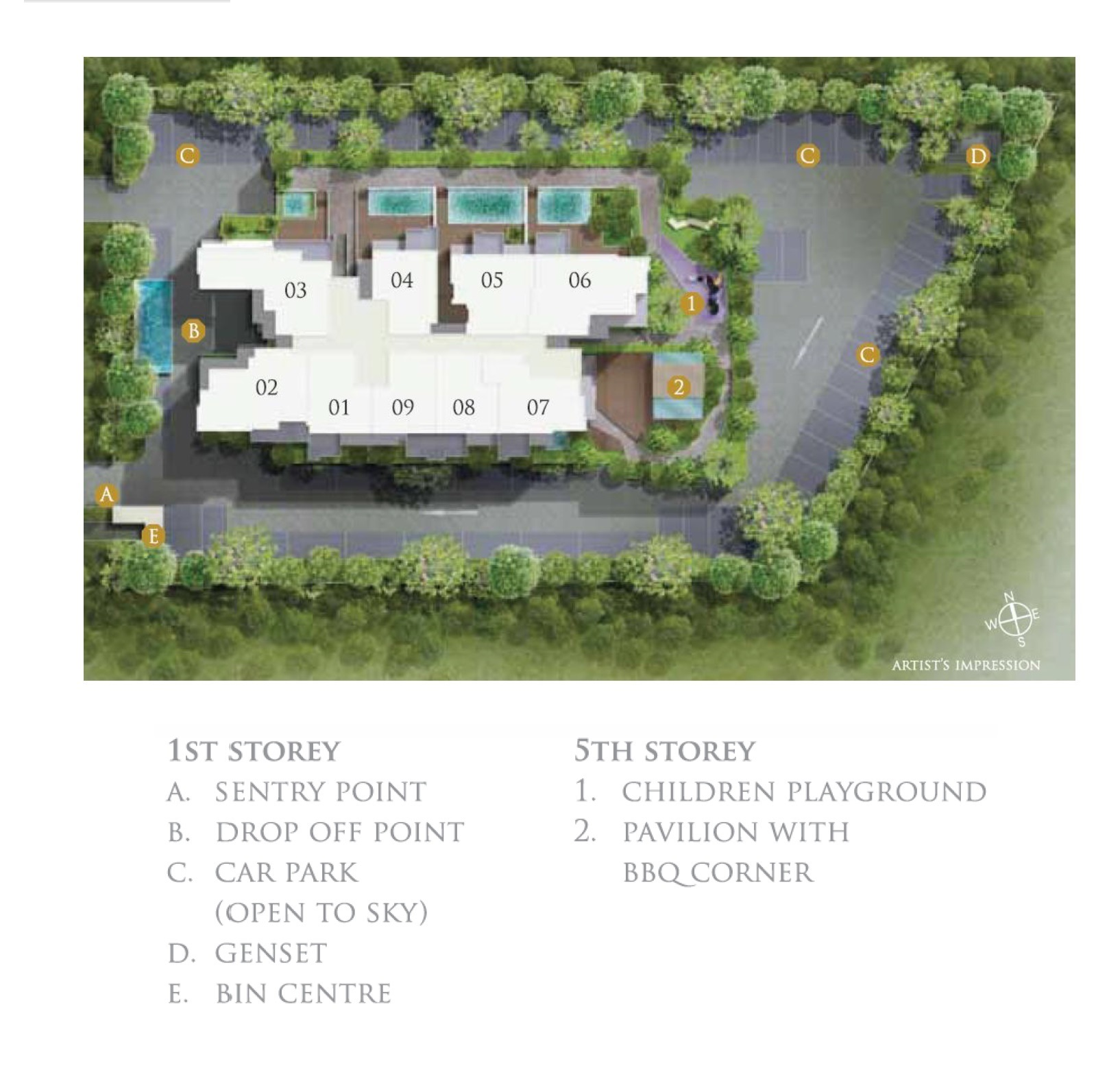 26 Newton site plan