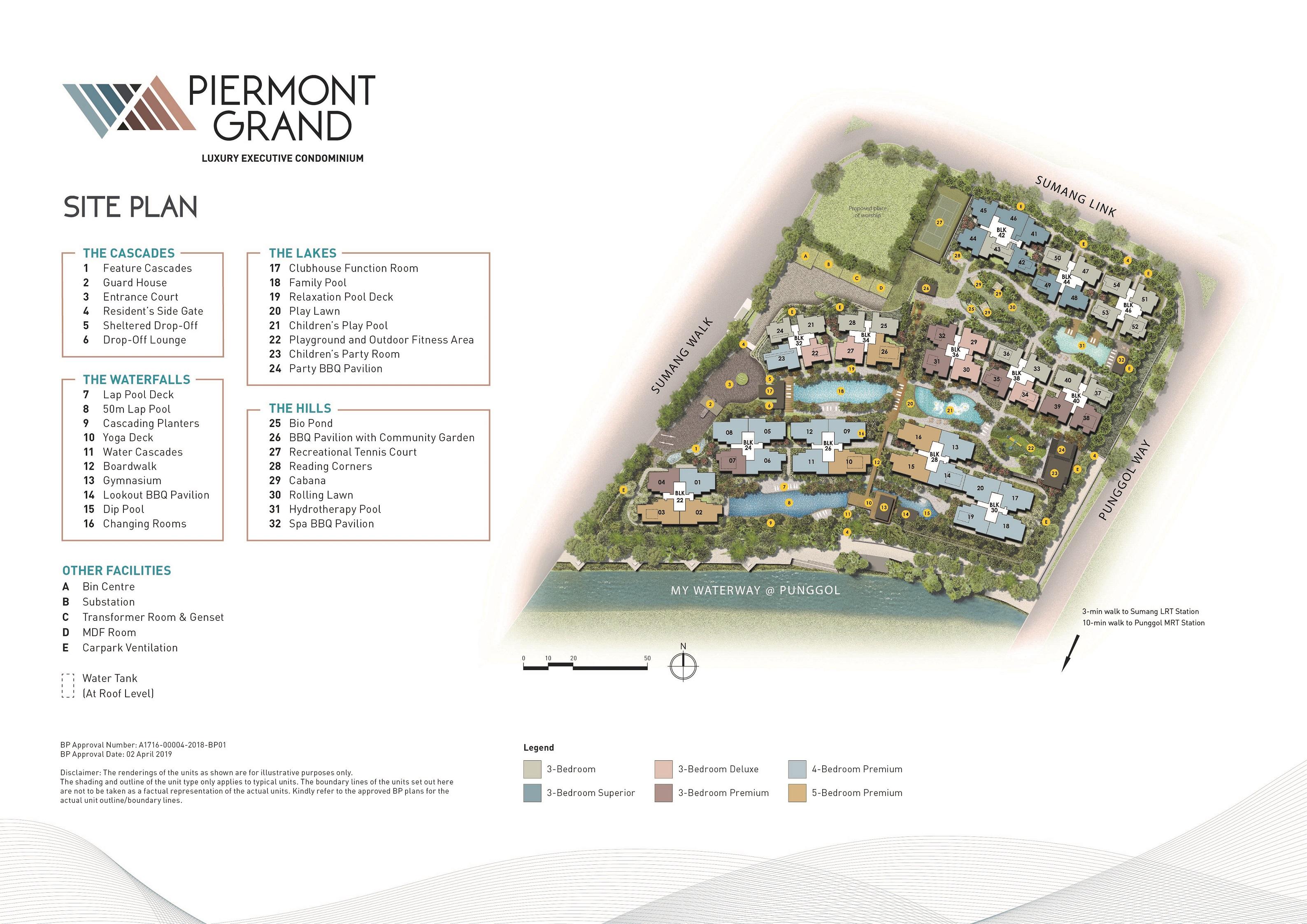 Piermont Grand site plan