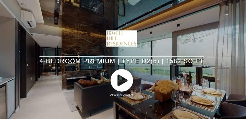 3D Virtual Tour of Irwell Hill Residences 4 Bedroom Premium