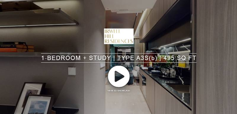 3D Virtual Tour of Irwell Hill Residences 1 Bedroom + Study