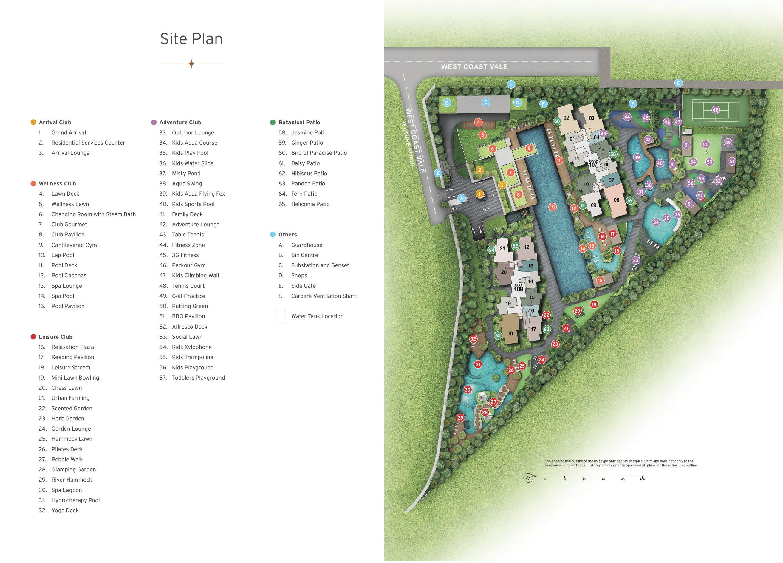 Whistler Grand 御峰 site plan