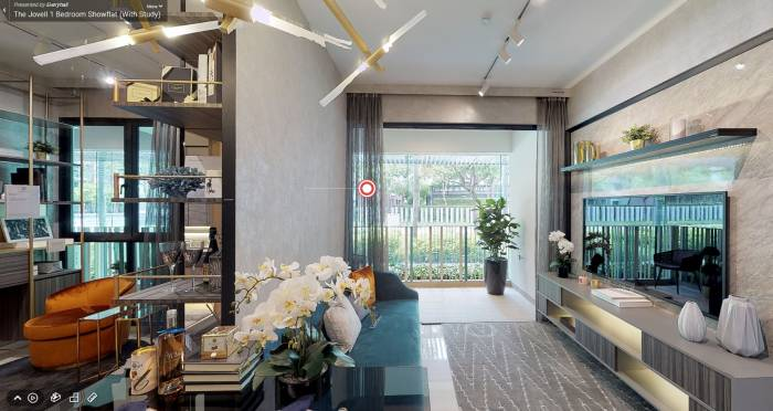 3D Virtual Tour of The Jovell 1 Bedroom With Study Showflat