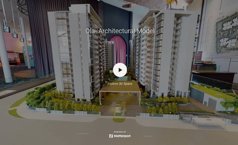 3D Virtual Tour of Ola EC Architectural Model