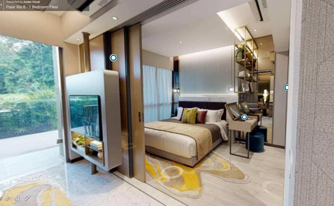 3D Virtual Tour of Pasir Ris 8 1 Bedroom Flexi Showflat