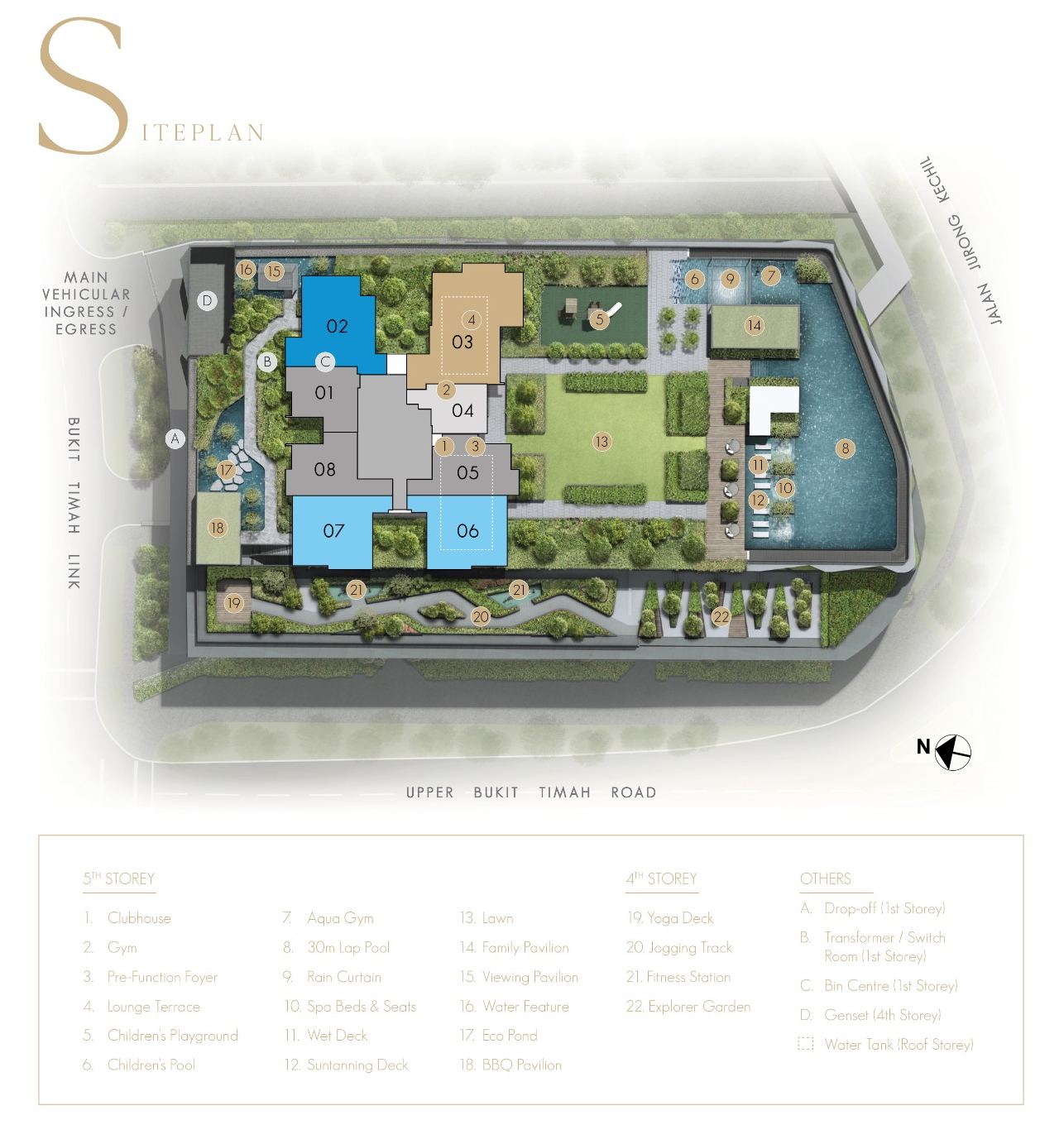 The Linq @ Beauty World Site Plan