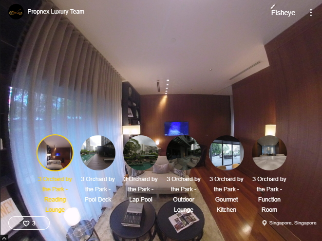 3D Virtual Tour of 3 Orchard By-The-Park Facilities