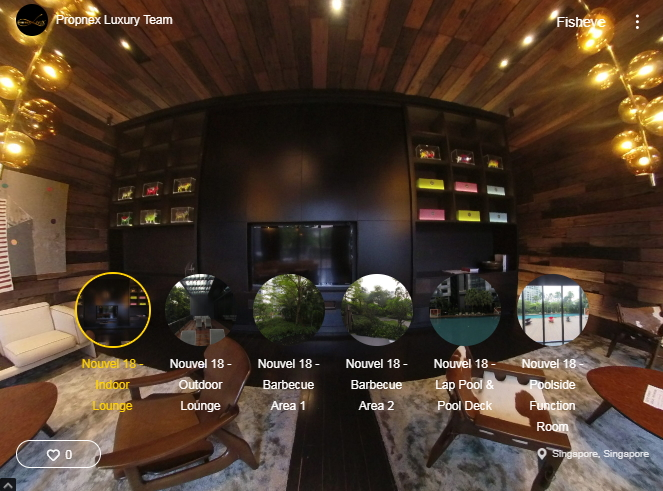 3D Virtual Tour of Nouvel 18 Facilities