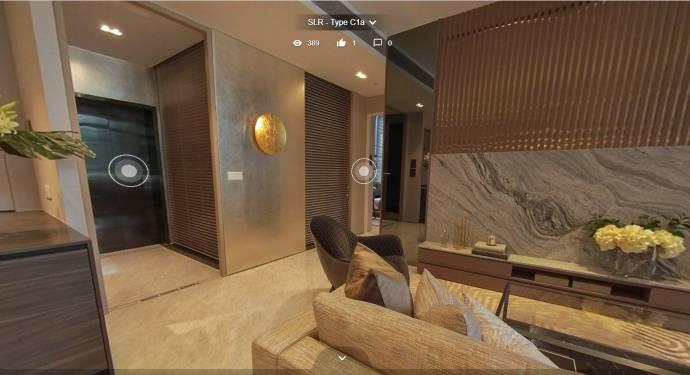 3D Virtual Tour of Sloane Residences 3 Bedroom Unit, Type C1a