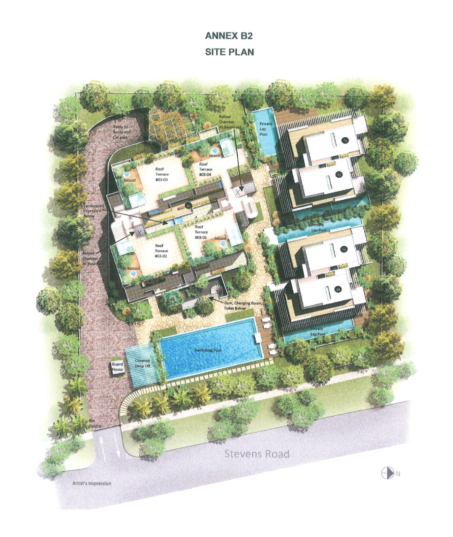 Whitehouse Residences Site Plan