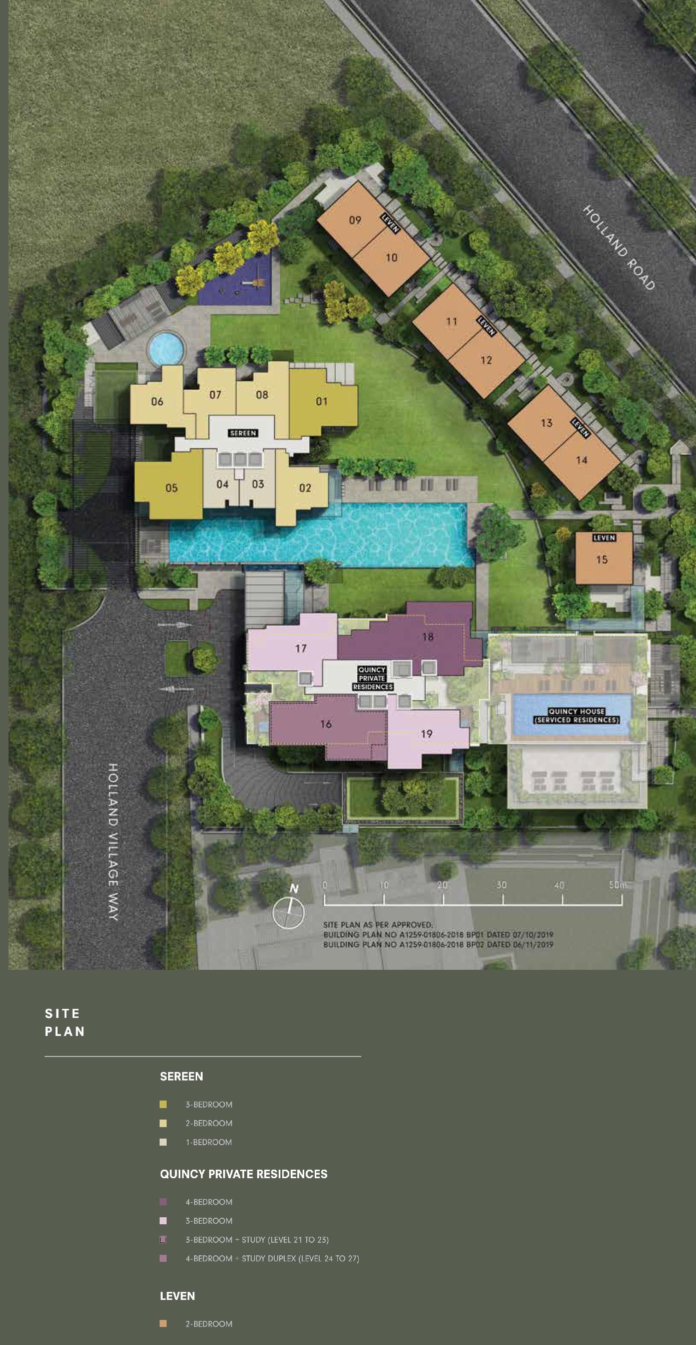 Site Plans One Holland Village Residences