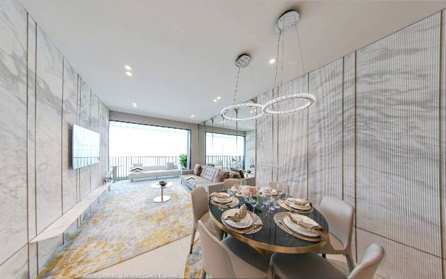 3D Virtual Tour of Treasure at Tampines 5 Bedroom Type E4