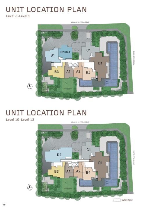 MYRA site plan