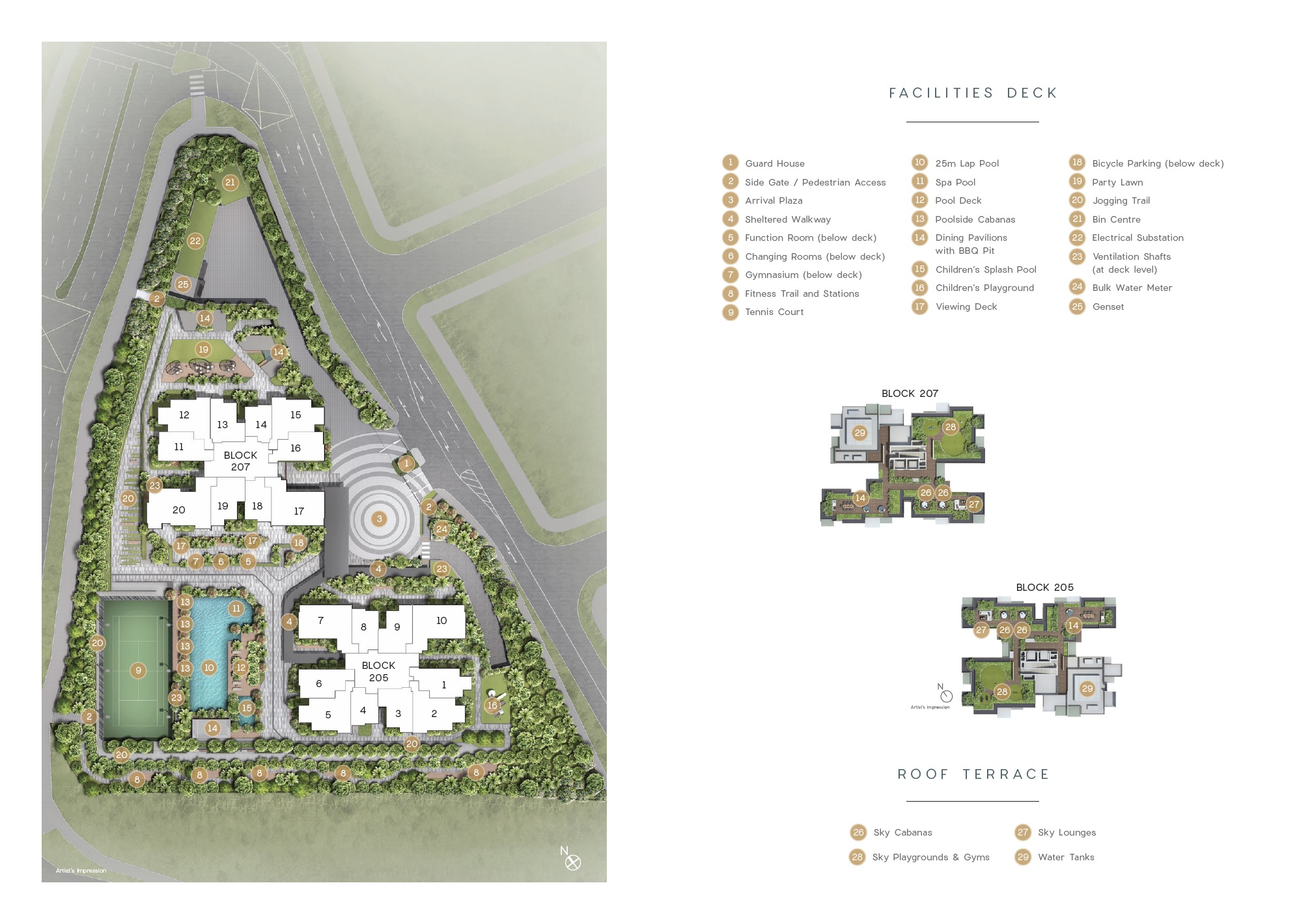 Urban Treasures  site plan
