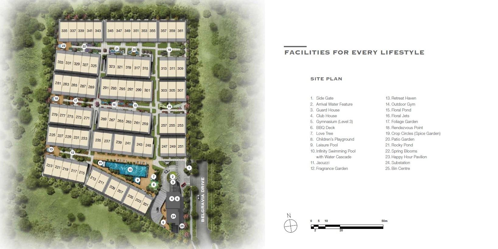 Belgravia Green site plan