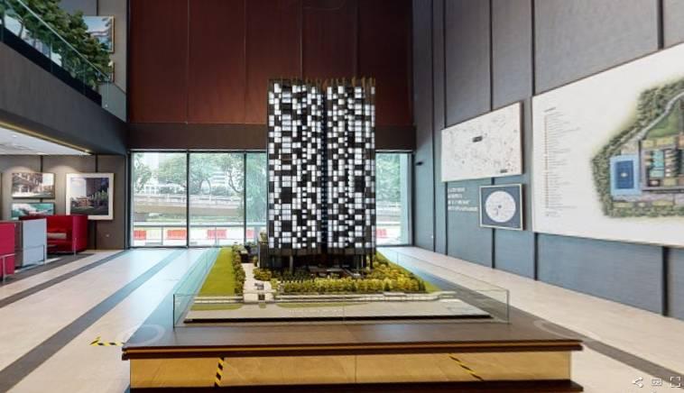 3D Virtual Tour of Pullman Residences Show Suite