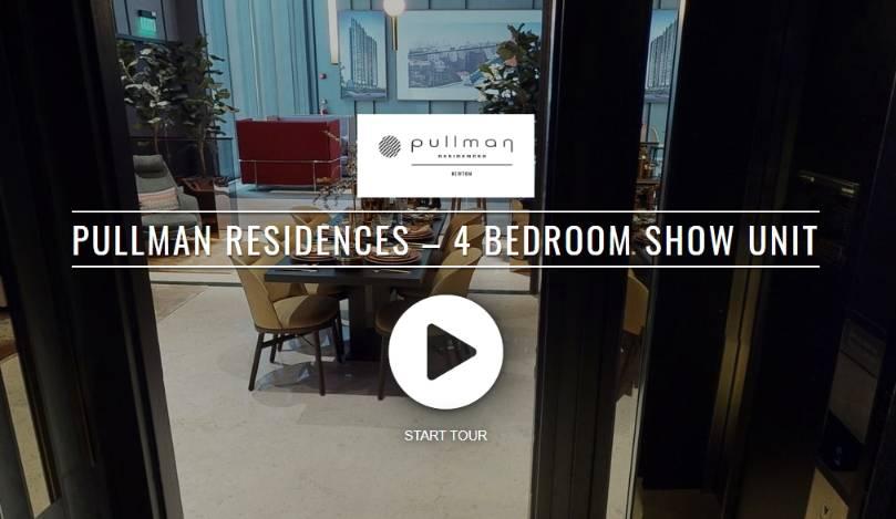 Virtual 3D Tour of Pullman Residences 4 Bedroom Show Unit