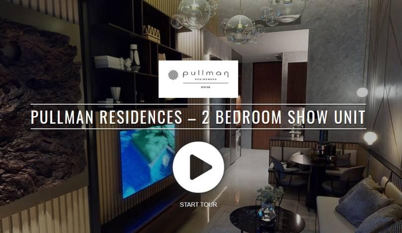Virtual 3D Tour of Pullman Residences 2 Bedroom Show Unit