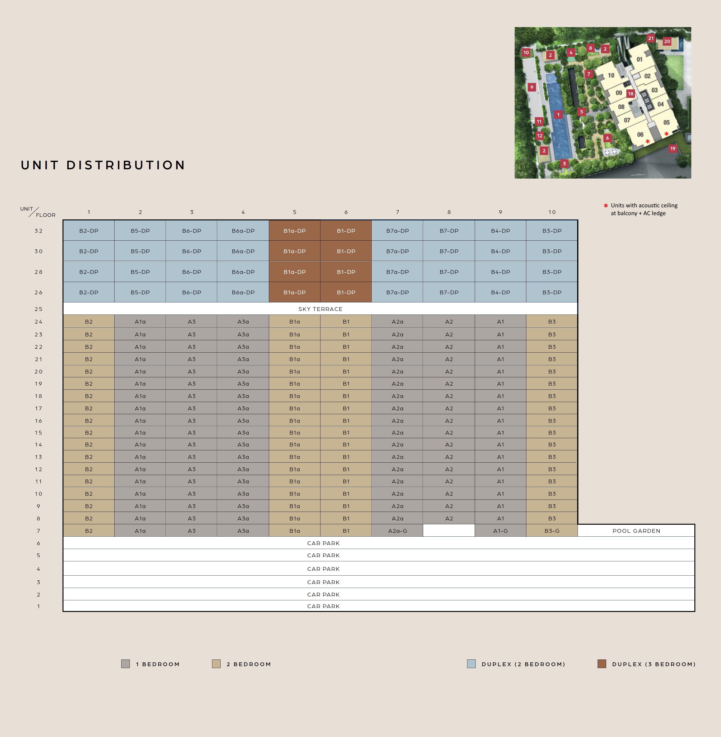 Midtown Bay (滨海名汇) site plan