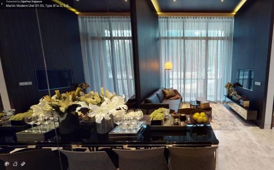 3D Virtual Tour of Modern 2 Bedroom, Unit 01-05, Type B1a-G, 764 sqft