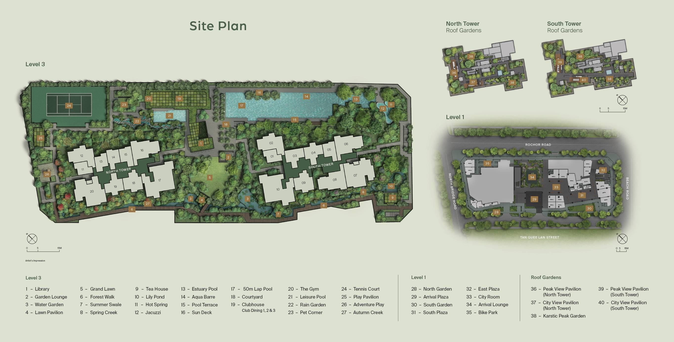 Midtown Modern site plan