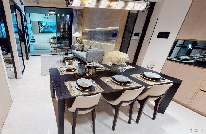 3D Virtual Tour of Meyer Mansion 3 Bedroom Type C2, 1109 sqft
