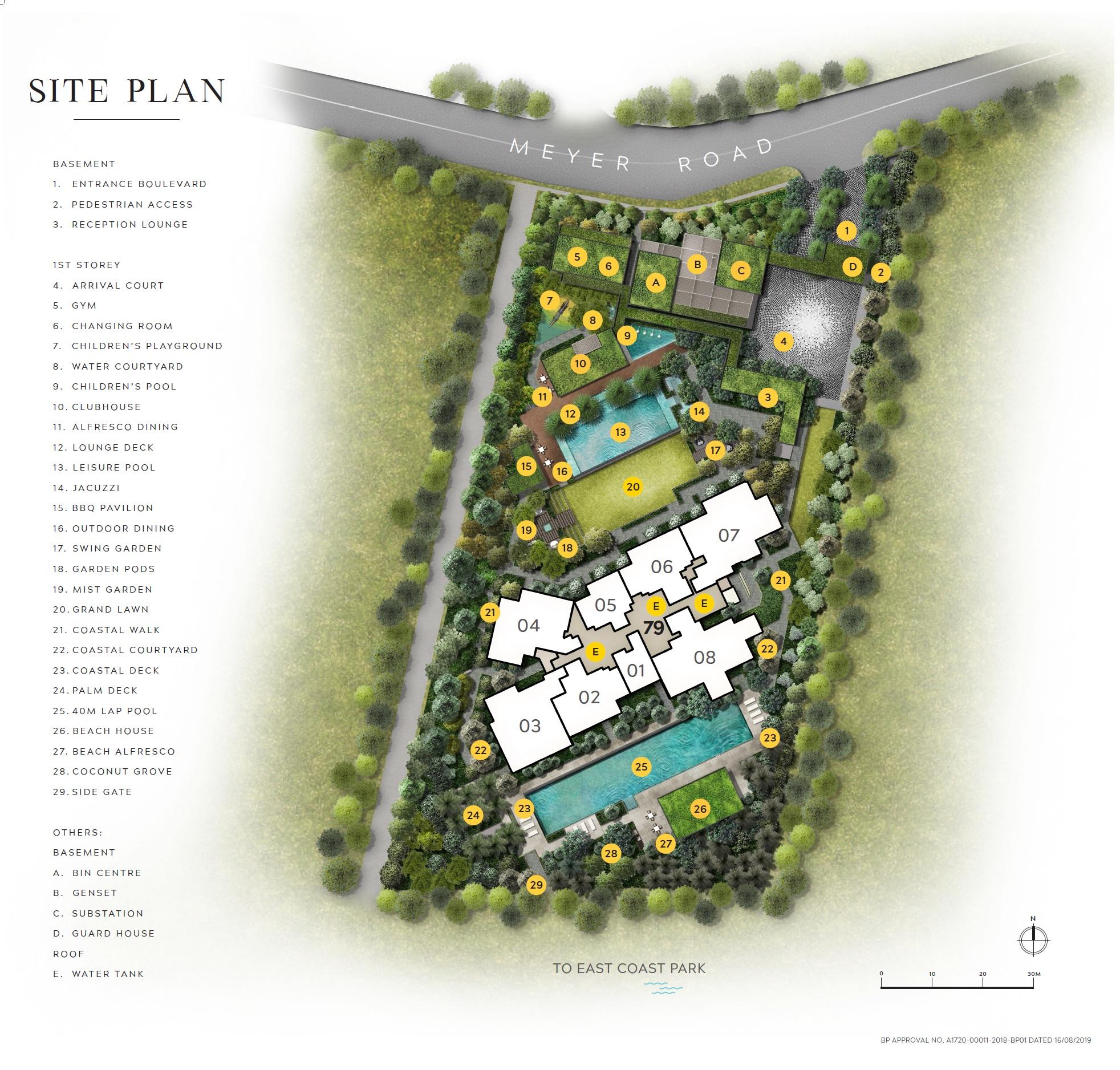 Meyer Mansion (美雅豪苑) site plan