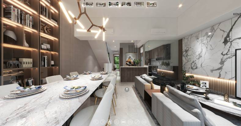 3D Virtual Tour of Kent Ridge Hill Residences 4 Bedroom Strata Landed