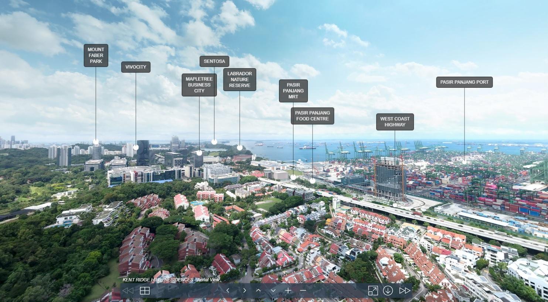 3D Virtual Tour of Kent Ridge Hill Residences Drone
