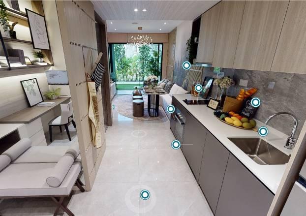3D Virtual Tour of Kent Ridge Hill Residences 1 Bedroom + Study