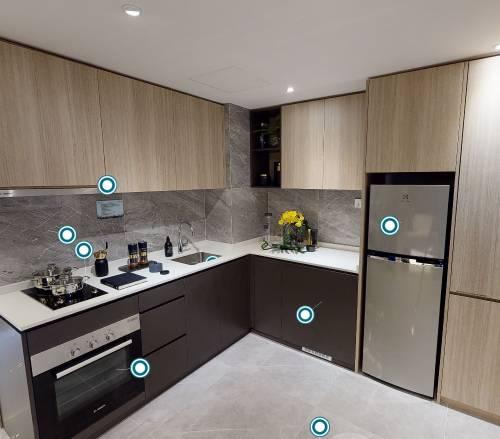 3D Virtual Tour of Kent Ridge Hill Residences 2 Bedroom + Study