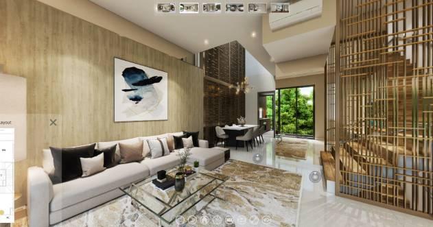 3D Virtual Tour of Affinity at Serangoon 5 Bedroom Strata Landed