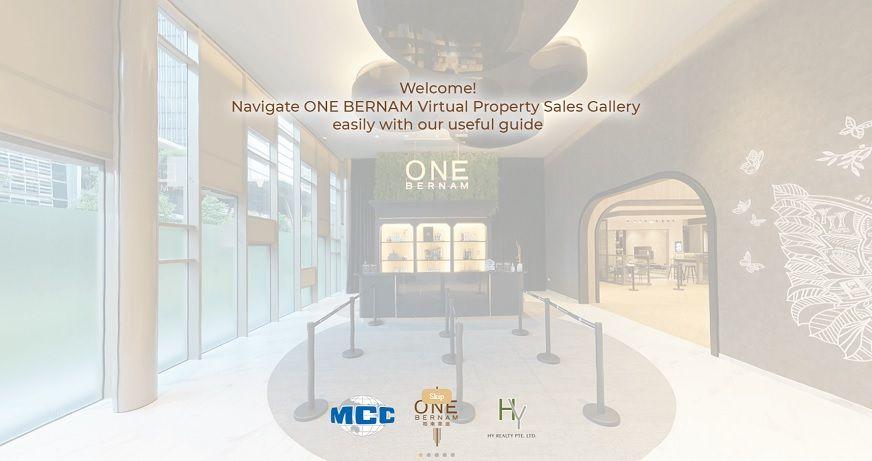 3D Virtual Tour of One Bernam Sales Gallery
