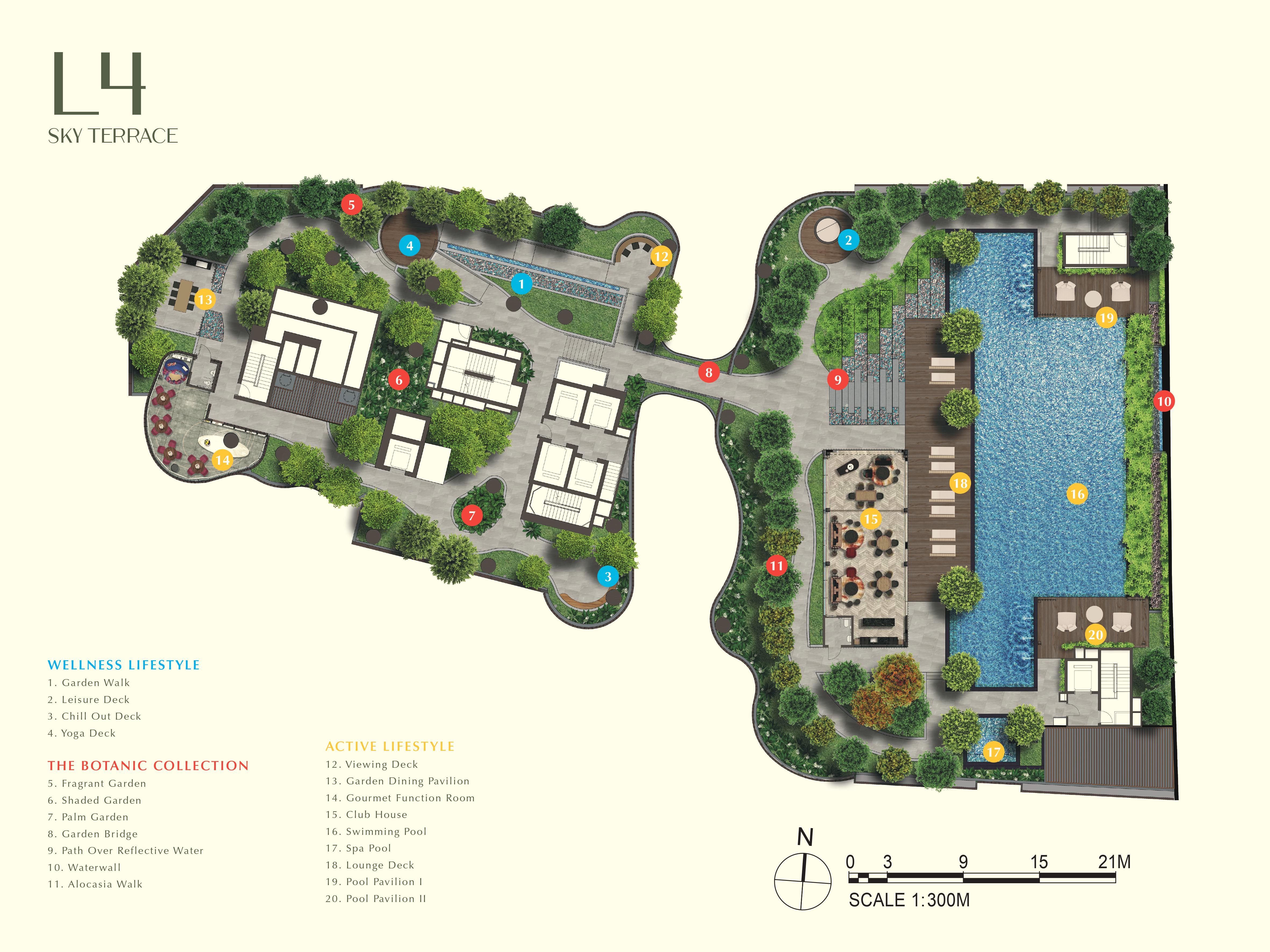 One Bernam site plan