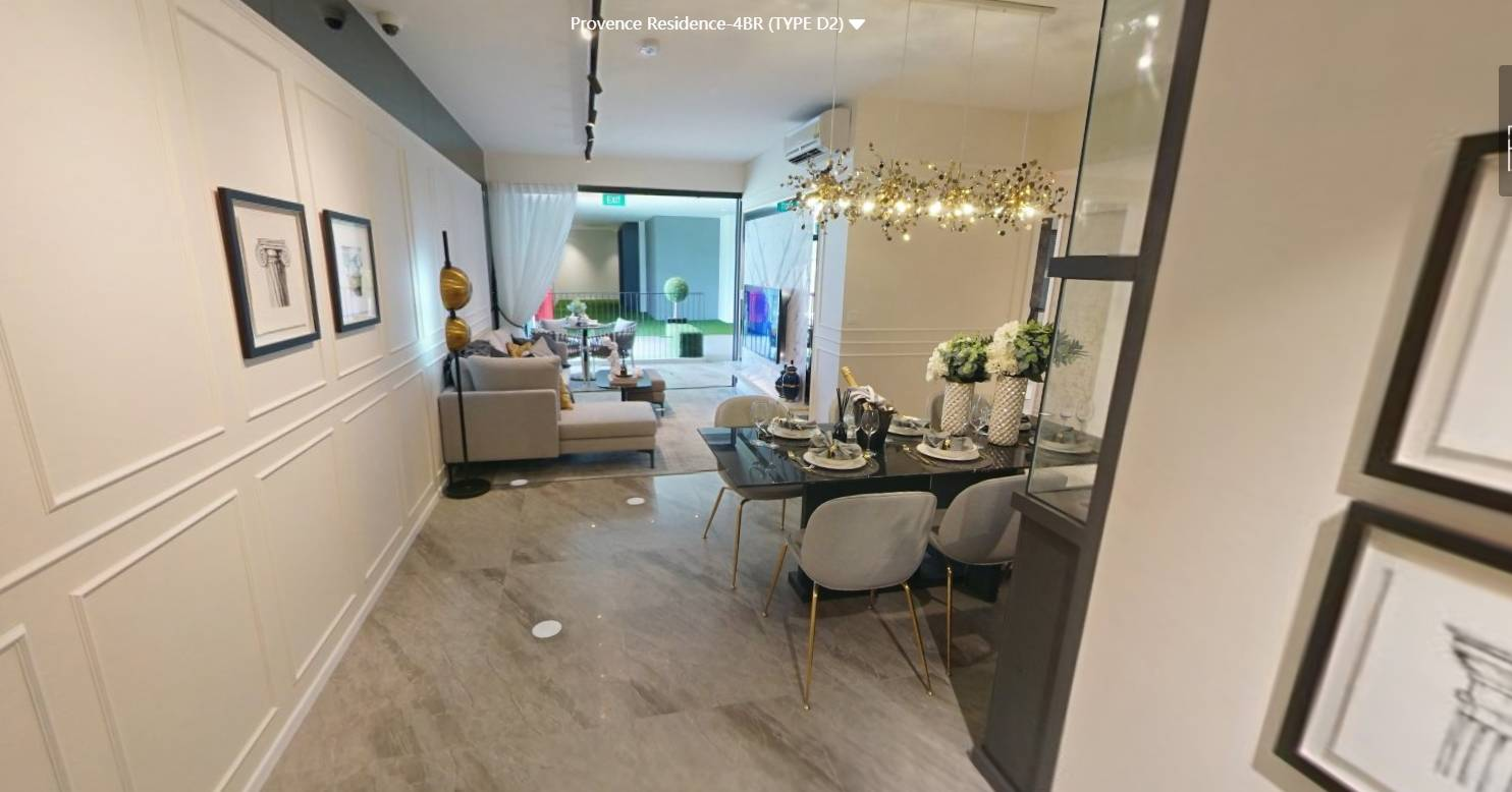 3D Virtual Tour of Provence Residence 4 Bedroom Type D2