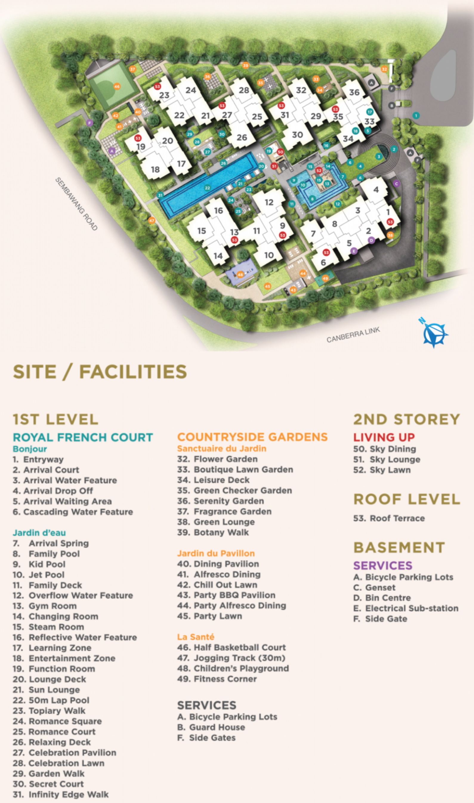 Provence Residence site plan