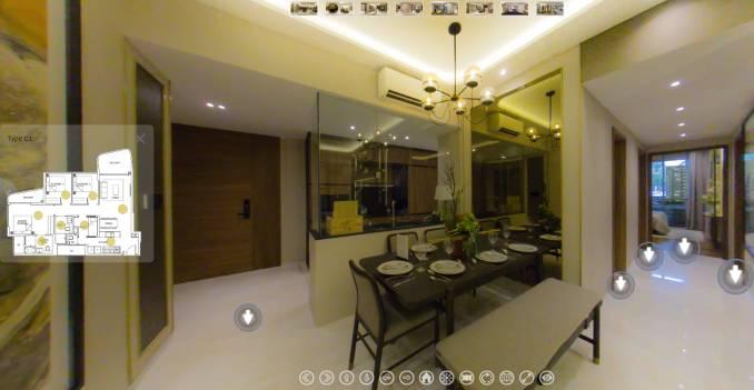 3D Virtual Tour of Coastline Residences 3 Bedroom, Type C1