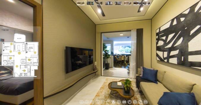 3D Virtual Tour of Coastline Residences 2 Bedroom, Type B2