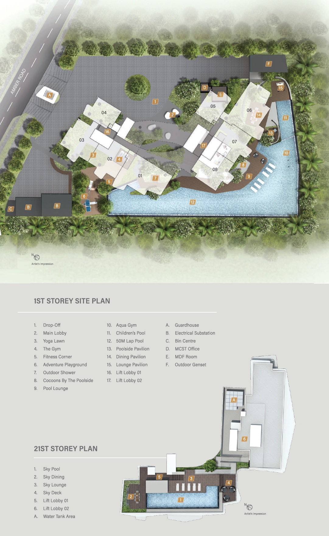 Coastline Residences site plan