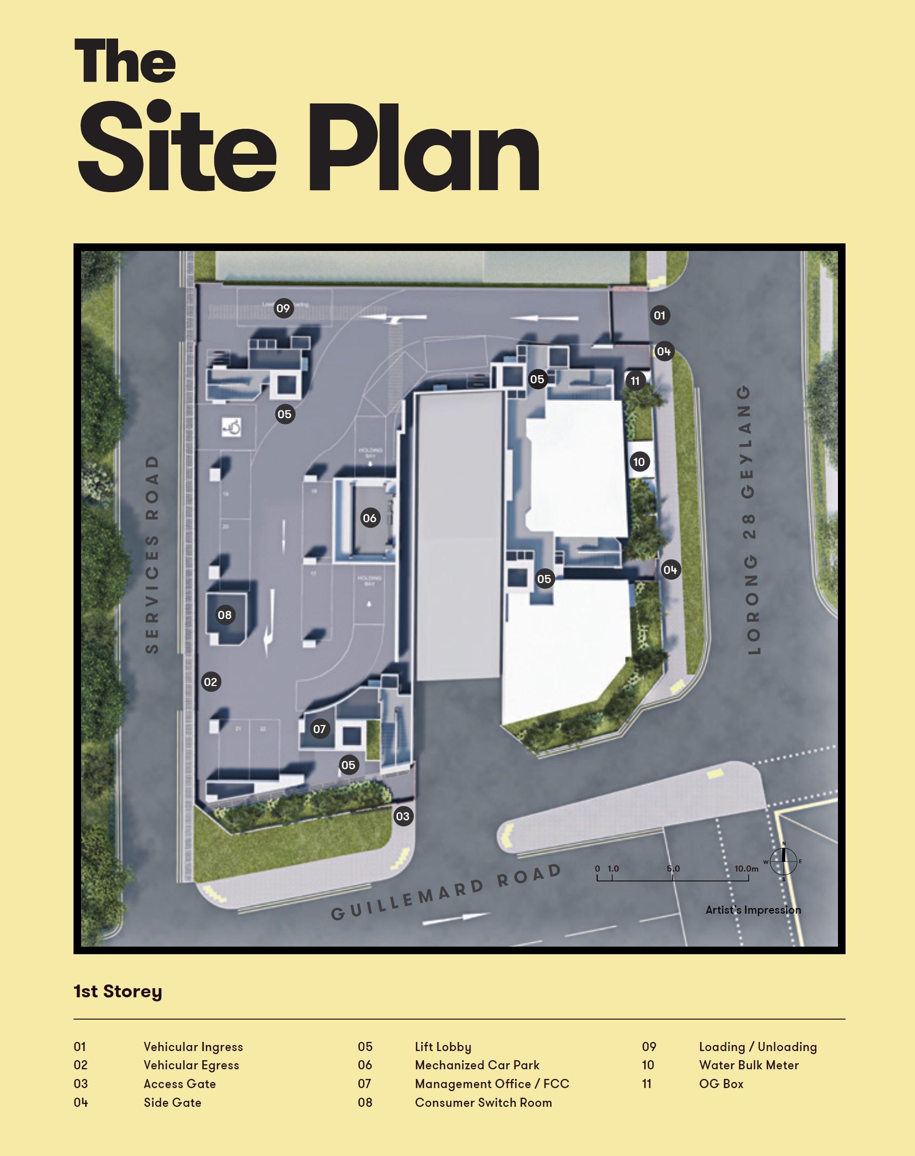 NoMa site plan