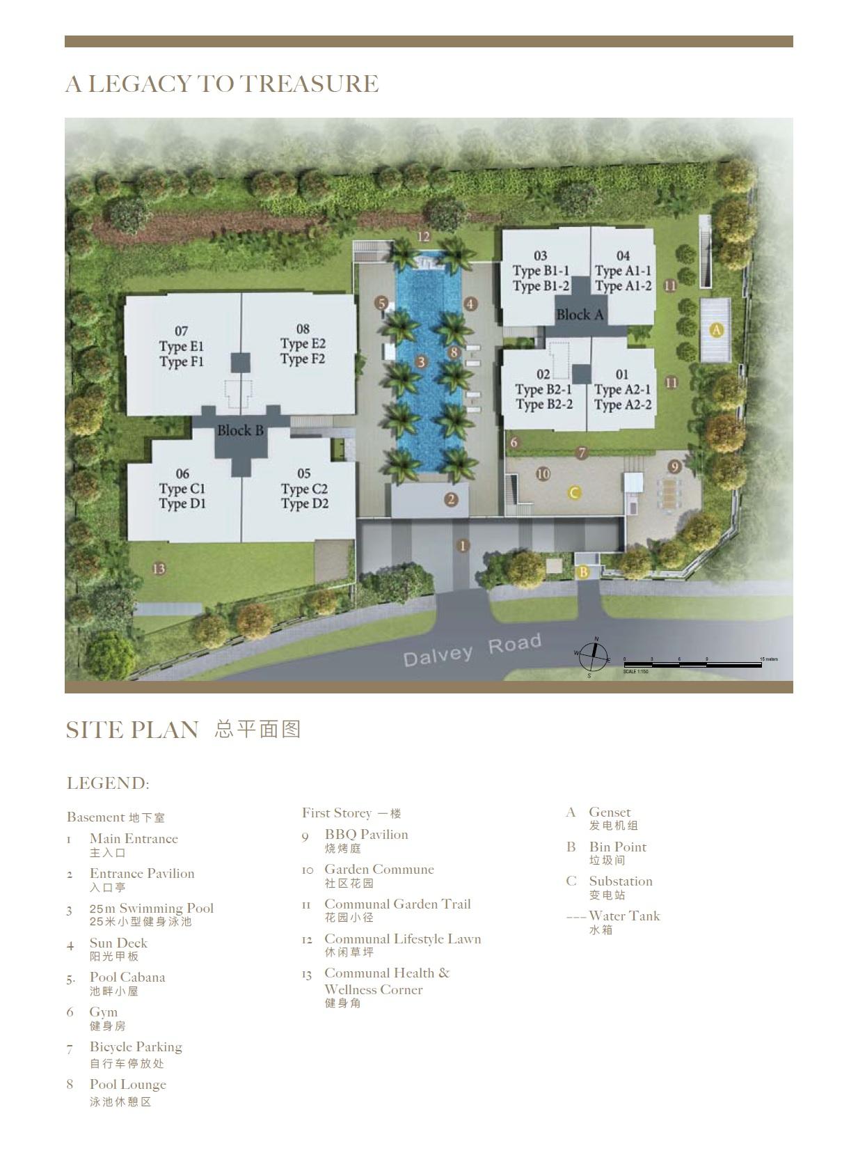 Dalvey Haus site plan