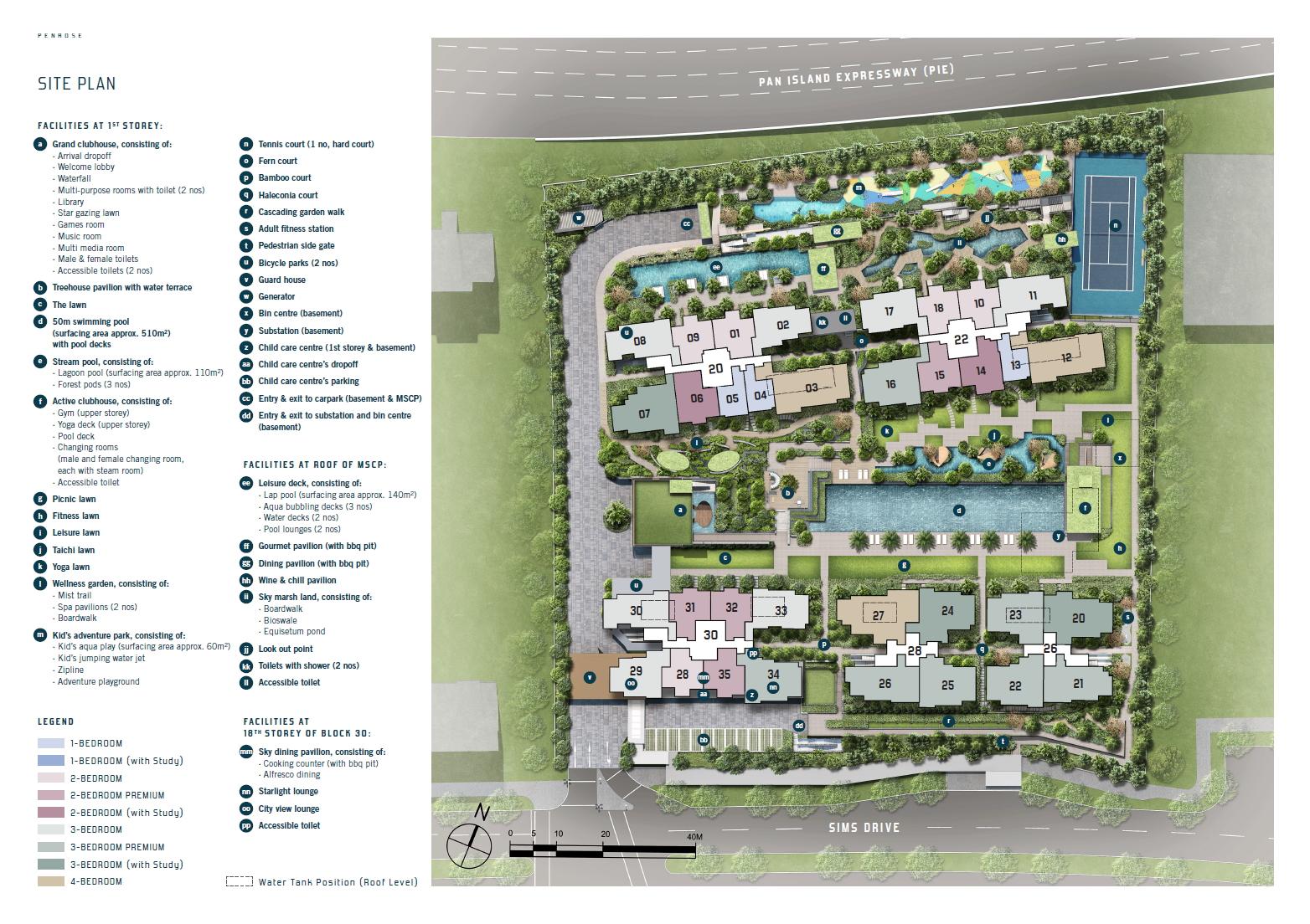 Penrose (D14) site plan
