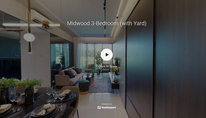 3D Virtual Tour of Midwood 3 Bedroom with Yard