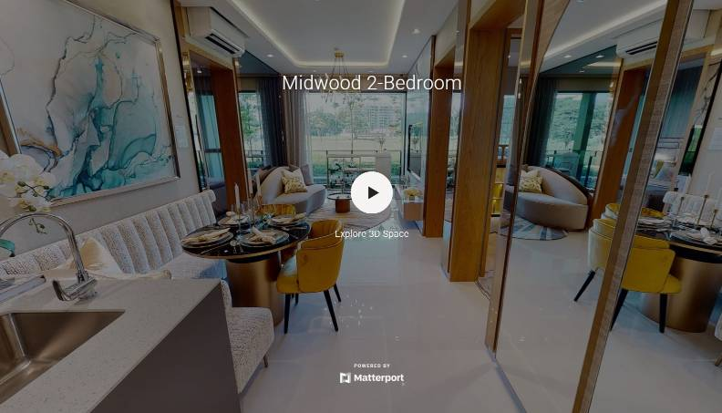 3D Virtual Tour of Midwood 2 Bedroom