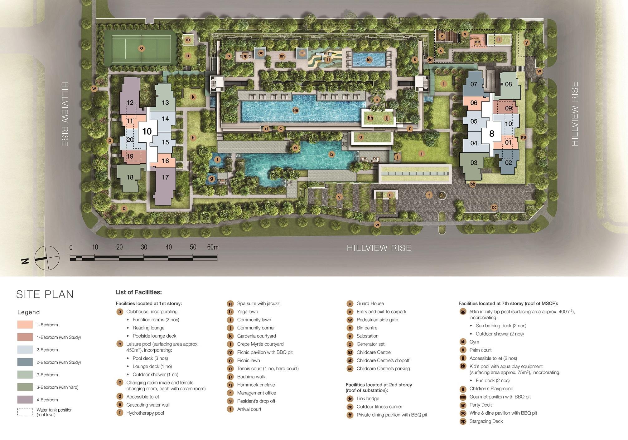 Midwood site plan