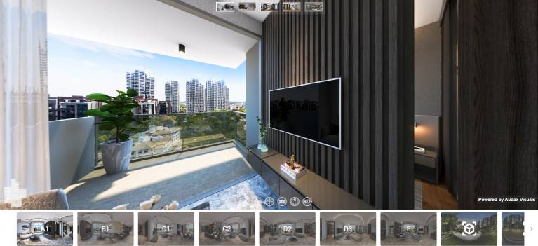 3D Virtual Tour of Hyll on Holland Show Units