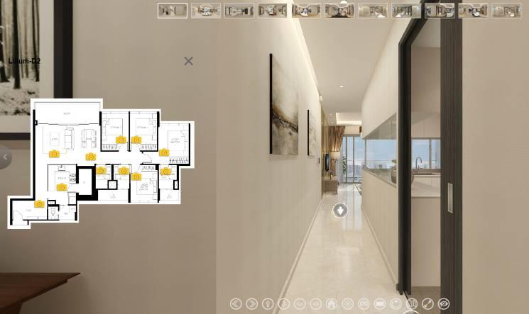3D Virtual Tour of The Lilium 4 Bedroom, Type D2