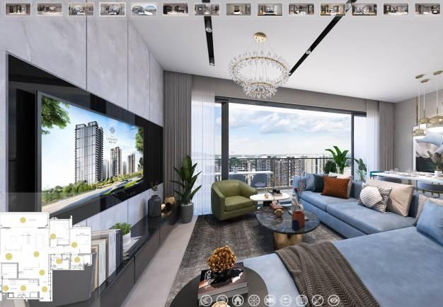 3D Virtual Tour of Parc Clematis 5 Bedroom Elegance
