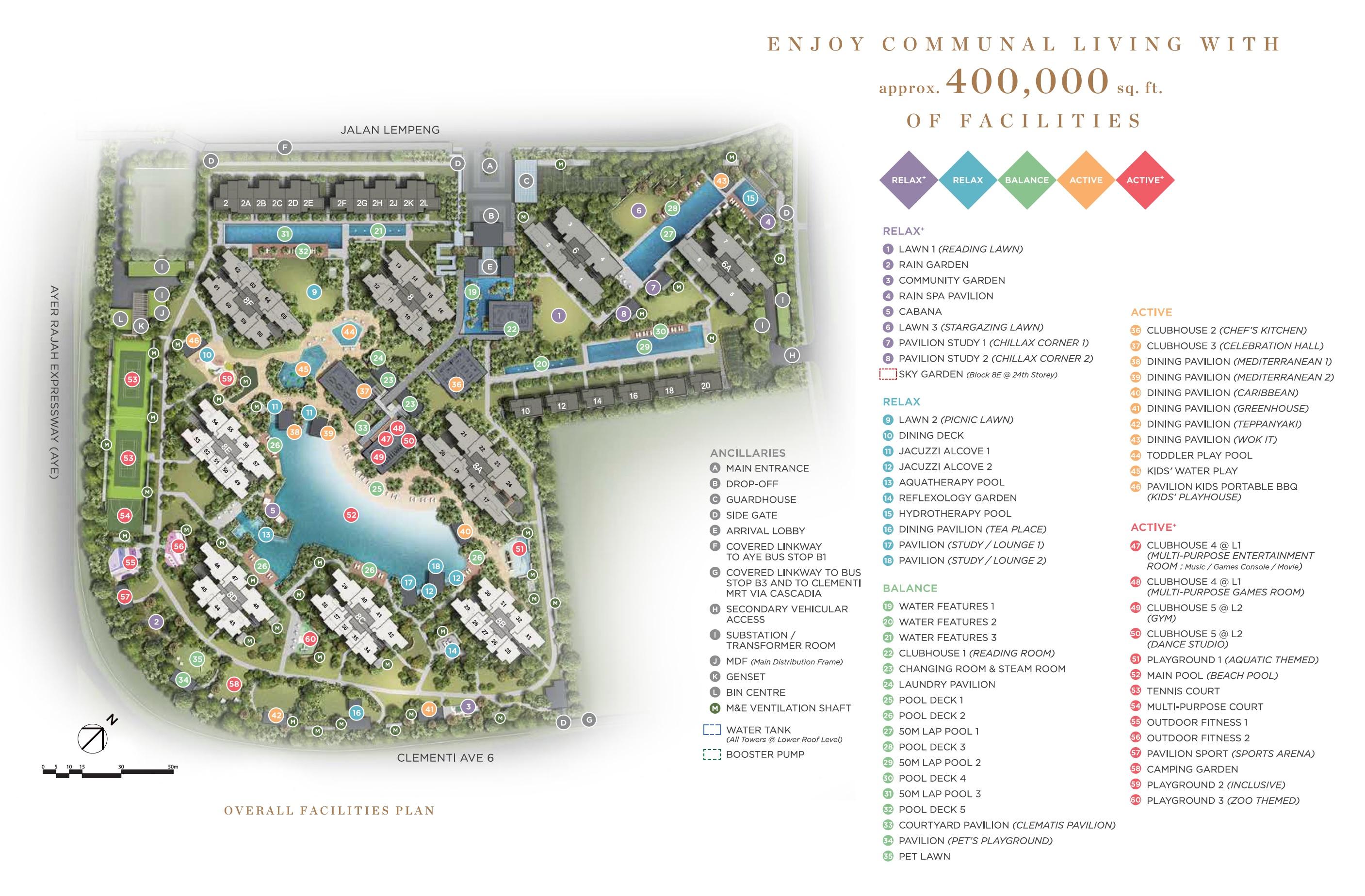 Parc Clematis (錦泰門第) site plan